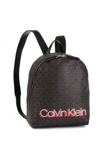 Calvin Klein Calvın Kleın Monogram Sml Sırt Çantası Kahverengi