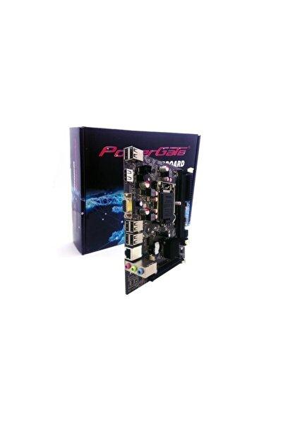 Powergate Pg-ıh61-ma5 1600mhz Ddr3 1155p S+l+vga Anakart