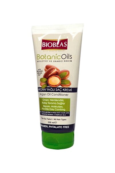 Bioblas Saç Kremi 200 Ml Argan Yağlı