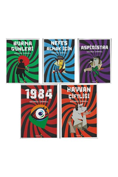 Yakamoz Yayınları George Orwell Seti-5 Kitap