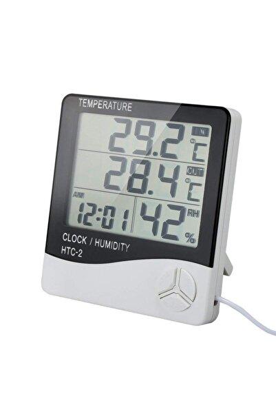 OEM Htc 2 Dijital Ekranlı Termometre Isı Nem Sıcaklık Ölçer Htc-2