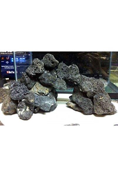 TROPİKAL Akvaryum Lav Kayası Siyah 10*12 Cm