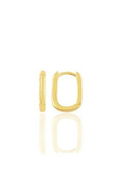 Gümüş Altın Yaldızlı Sade U Modeli Kupe