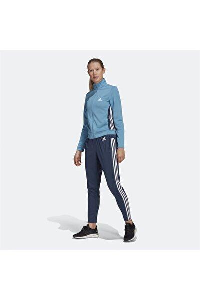 adidas Kadın Mavi Tracksuit Eşofman Takımı