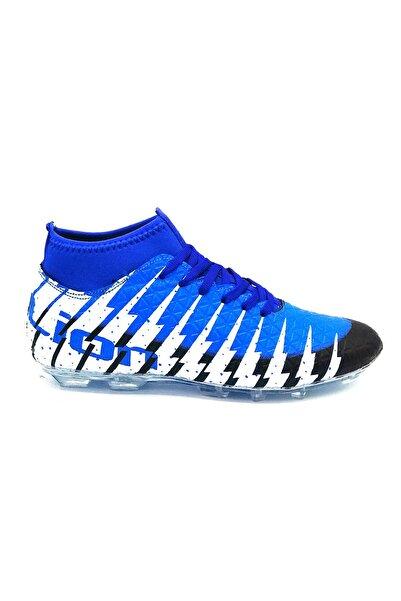 Lion 1453 Sax Mavi Krampon Futbol Ayakkabısı