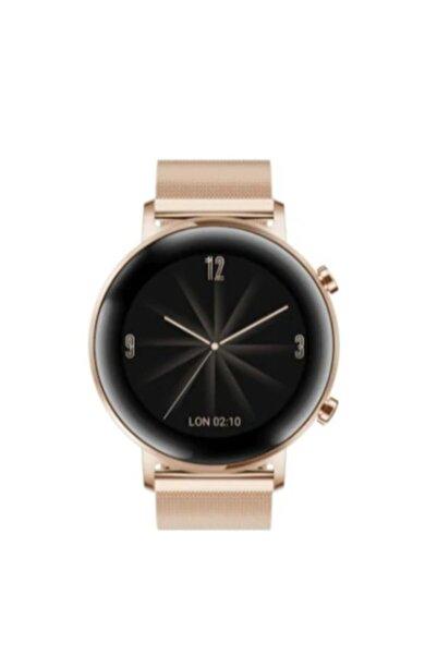 Huawei Watch Gt2 42mm Elegant Edition – Altın ( Türkiye Garantili ) Android 4.4 Ve Ios 9.0