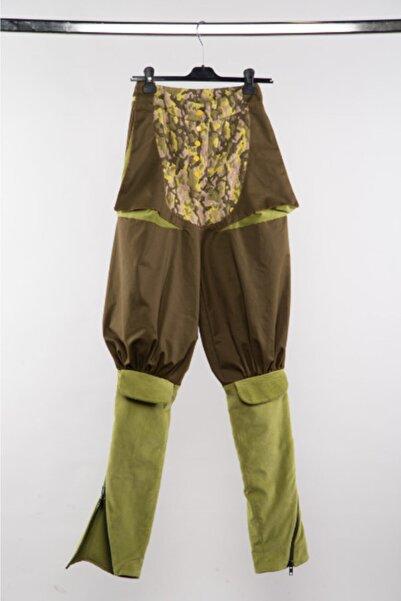 Futuristiklover Yeşil Kamuflaj Pantolon