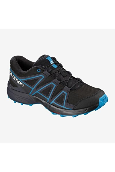 Salomon 404820 Speedcross J Black/graphite/hawaiian Surf Kadın Outdoor Ayakkabı