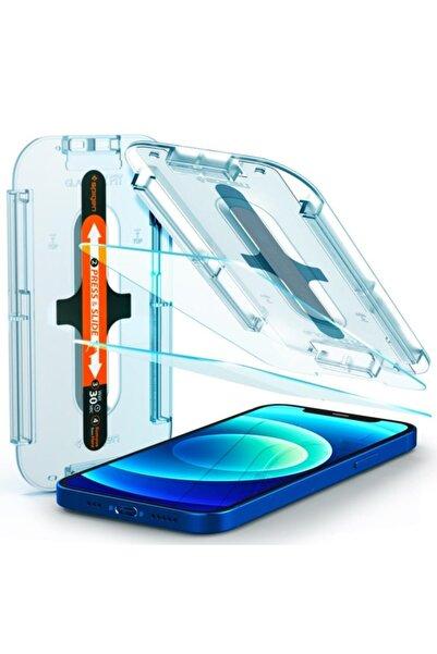 Spigen Iphone 12 Pro / Iphone 12 Ekran Koruyucu, Glas Tr Ez Fit (2 Adet)