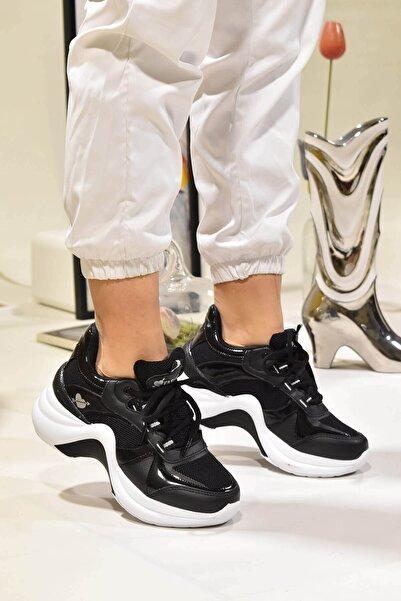 Twingo Kadın Siyah Spor Ayakkabı