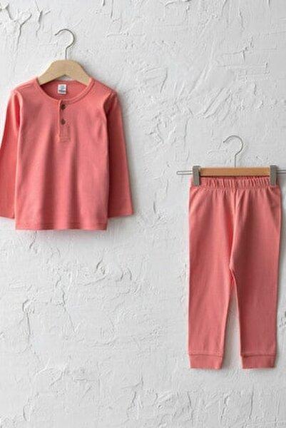 Kız Bebek Mat Mercan Gbh Pijama Takımı