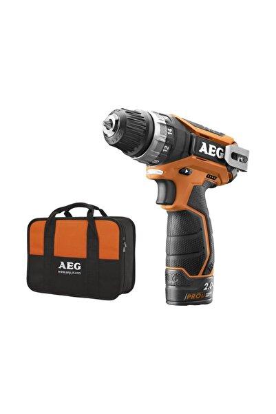 AEG Bs12 C2 Lı Akülü Matkap ( Çift Akülü Lithium Lion 12 V; 2.0 Ah )