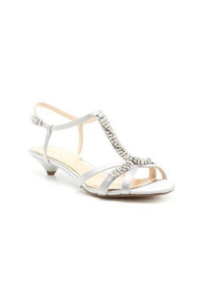 CLARKS Kadın Gri Sık Topuklu Ayakkabı