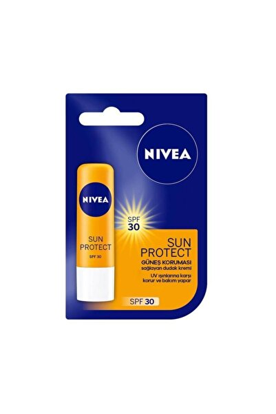 Nivea Nıvea Dudak Bakım Kremi Sun Protect Güneş Koruması 4.8 Gr Delist