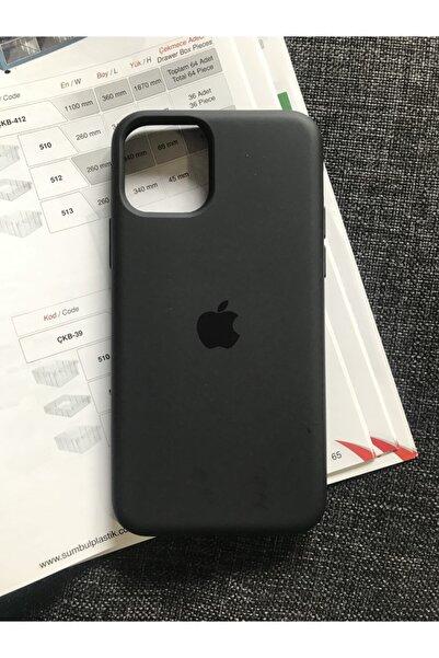 SUPPO Iphone 11 Pro Logolu Lansman Içi Kadife Silikon Kılıf (DİKKAT! İPHONE 11 İLE UYUMLU DEĞİLDİR)