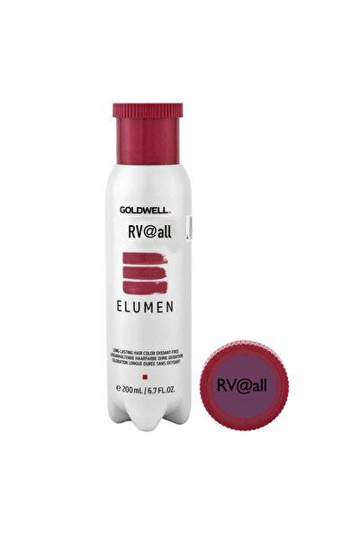 GOLDWELL Elumen Red Rv@all - Kırmızı Viole Amonyaksız Saç Boyası 200 Ml