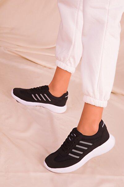 SOHO Siyah Kadın Sneaker 14552