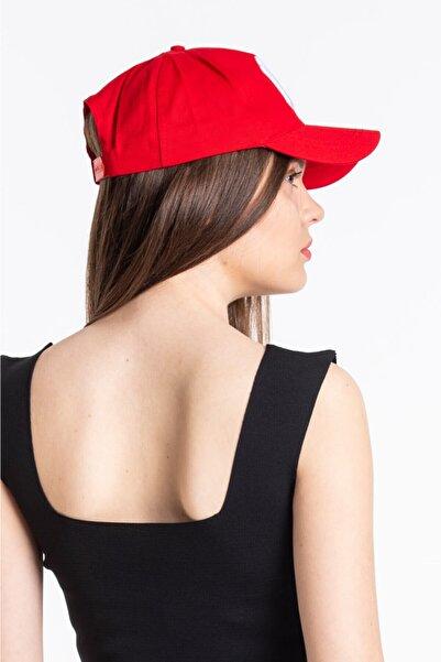 Mossta Kadın Kırmızı New York Şapka