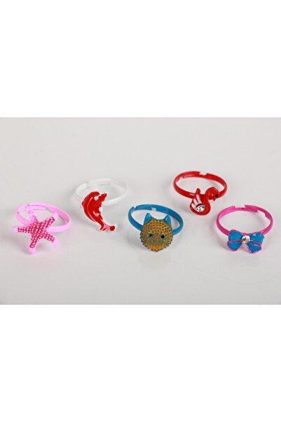 SeaBubbles Kız Çocuk Yüzük Renkli 5li Set