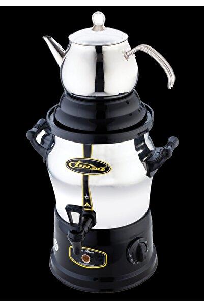 İmza Semaver Çay Makinesi 30 Bardak4 l