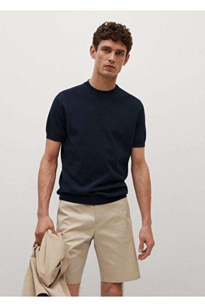 MANGO Man Erkek Pamuk Dokuma  T-Shirt