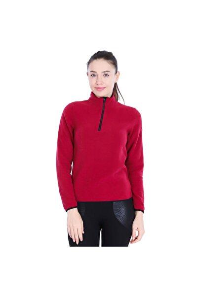 Sportive Kadın Bordo Günlük Stil Polar 710081-0mr-sp