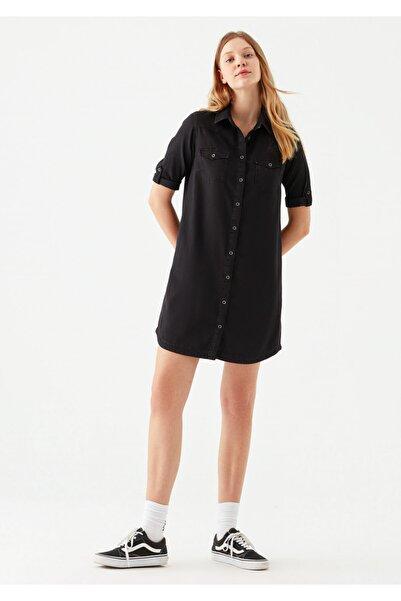Mavi Kadın Bree Vintage Siyah Jean Elbise 130420-27321