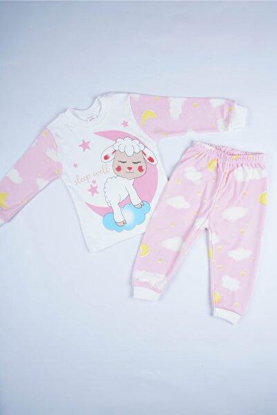 MİNİKO KİDS Yeni Sezon Penye Pamuk Bebek Çocuk Pijama Takımı