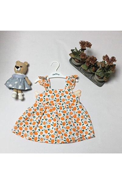Tiny World Melek Kanatlı Portakallı Elbise