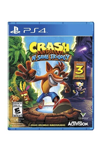 ACTIVISION Crash Bandicoot N. Sane Trilogy Ps4 Oyun