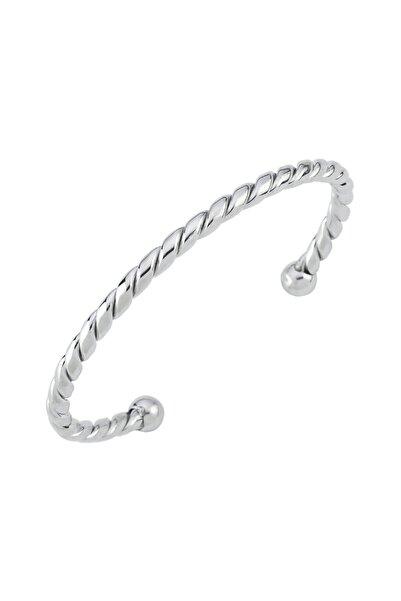 Luzdemia Gümüş Kelepçe Bileklik 925 - Gümüş
