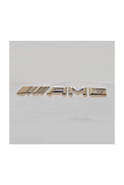 MERCEDES Amg Arka Bagaj Yazısı Krom Yeni Model 000przm17264