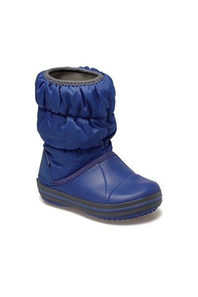 Crocs Kids WINTER PUFF BOOT KIDS Koyu Mavi Unisex Çocuk Bot 100528570