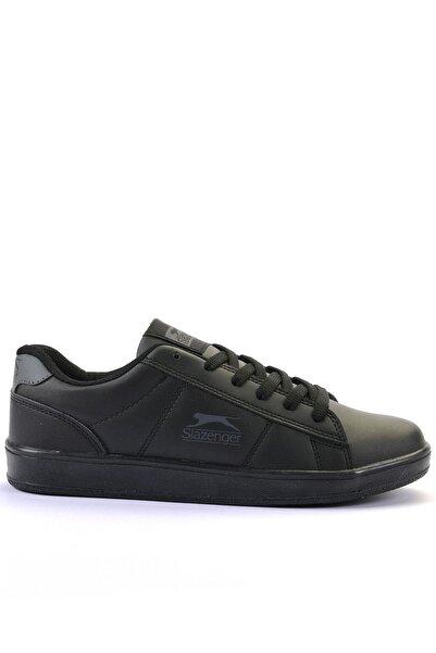 Slazenger Malcom Sneaker Kadın Ayakkabı Siyah / Siyah