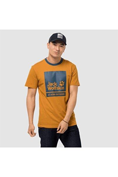 Jack Wolfskin Erkek Kahverengim365 Thunder T M Outdoor Tişört