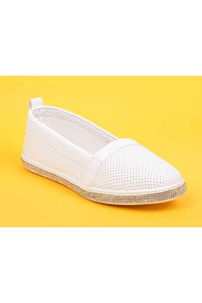 Markopark Kadın Beyaz Günlük Ayakkabı 205 21y