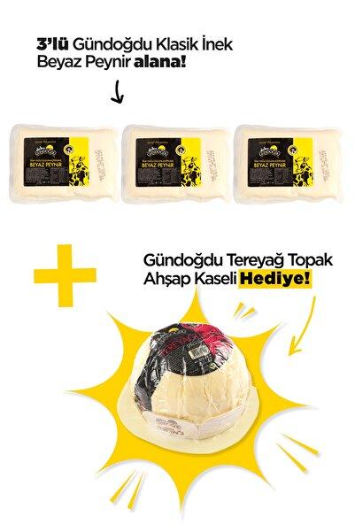Gündoğdu Ezine Inek Beyaz Peyniri 3 Lü Paket Yaklaşık 1,980 Kg
