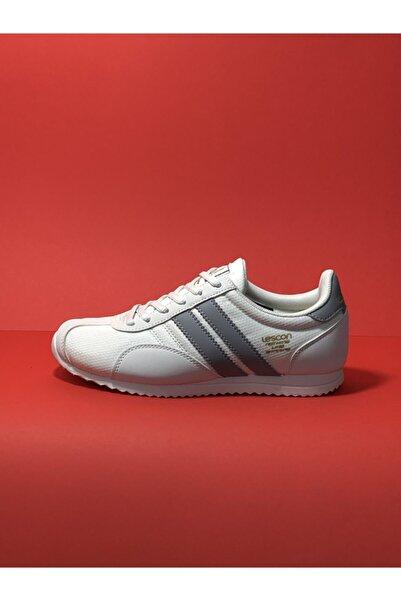 Lescon Beyaz Unisex Sneaker Günlük Spor Ayakkabı