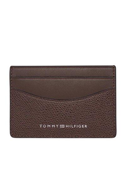 Tommy Hilfiger Erkek Kahverengi Cüzdan Busıness Mını Cc Holder AM0AM06510