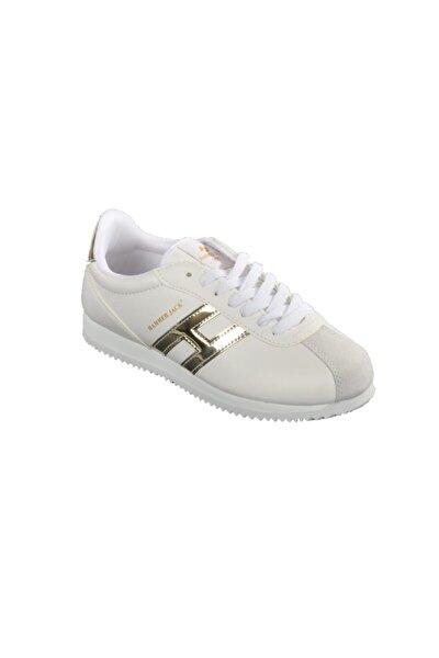 Hammer Jack Kadın Altın Beyaz Günlük Ayakkabı 102 20001-g