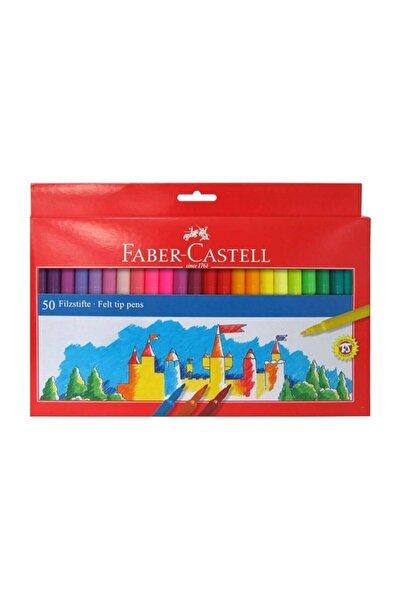 Faber Castell 50 Renk Keçeli Kalem