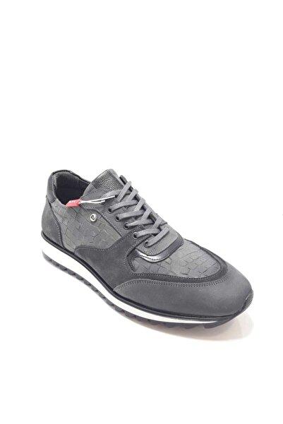 Pierre Cardin Erkek Gri Bağcıklı Casual Ayakkabı
