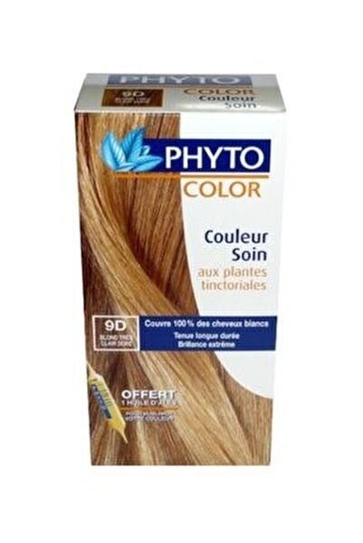 Color Saç Boyası 9d Very Light Golden Blond (Açık Sarı Dore)