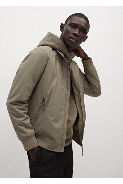 MANGO Man Teknik Kumaşlı Ceket