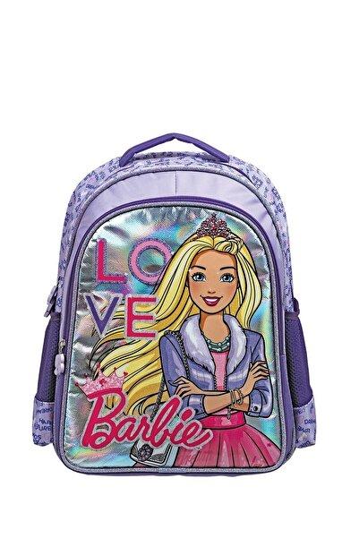 Frocx Barbie Mor 3d Simli Parlak İlkokul Sırt Çantası - 5040