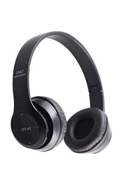Zhuse P47 Kulak Üstü Bluetooth Kulaklık 5.0 Siyah