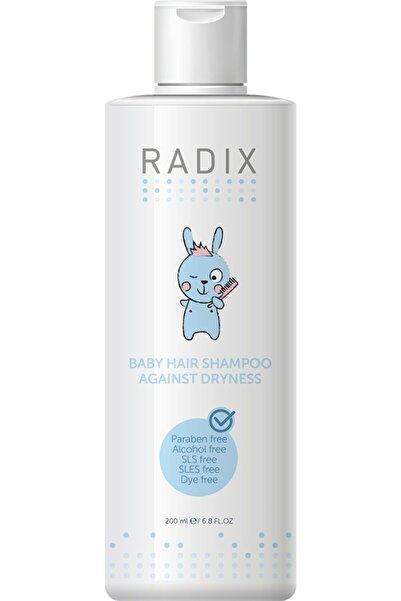 Radix Kuruma Karşıtı Yenidoğan Saç Ve Vücut Bakım Şampuanı 200 ml