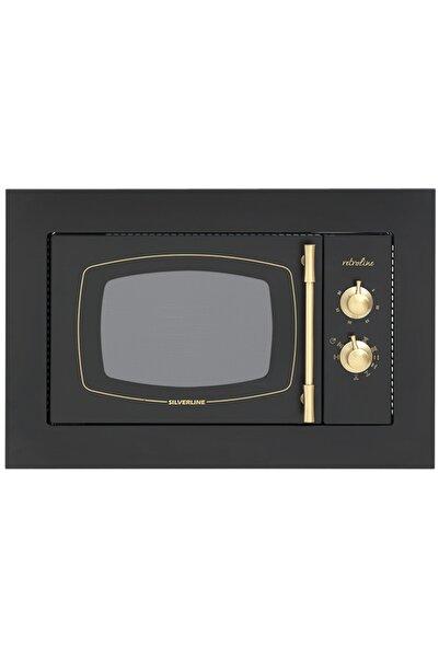 Silverline MW9033B02 Rustik Siyah Ankastre Mikrodalga Fırın