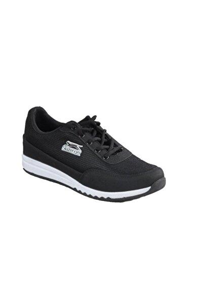 Slazenger Angle Sneaker Kadın Ayakkabı Siyah Sa11lk030