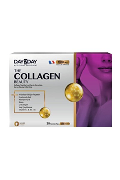 DAY2DAY The Collagen Beauty 30 Günlük Tüp * 40 ml Mango Aromalı